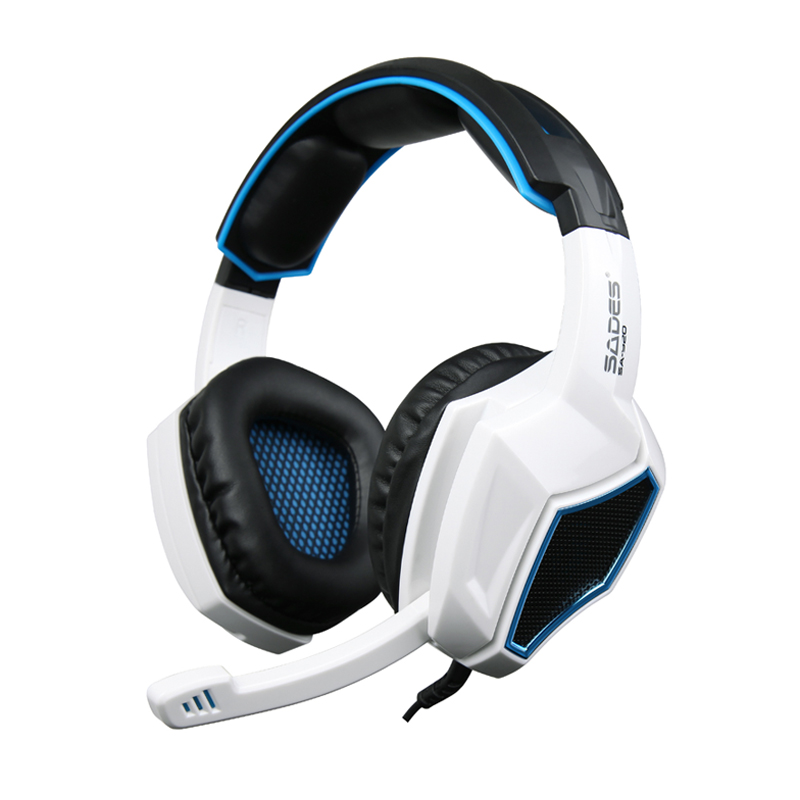 Gaming Headset Sades SA920 3 in1 Stereo Gaming Headphones with Mic Volume Control for Mobile Phone Xbox360 Tablet