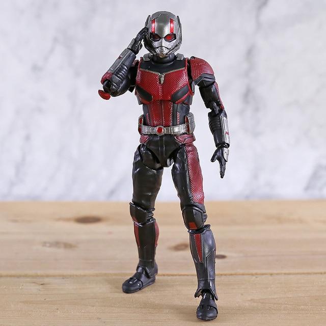 SHF Avengers 4 Endgame Ant Man nieskończoność wojna Antman Model postaci zabawka dla dzieci