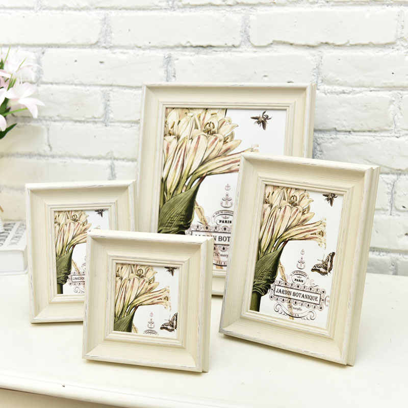 Christmas Art Simple European Wooden Picture Frame Wall,Photo Frame Desktop Decorations,Nordic Photo Frames,Family Picture Frame