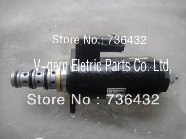 Fast Free shipping! Excavator solenoid valve YT35V00013F1 for Kobelco excavator SK200-6E SK230-6E, KOBELCO digger spare parts