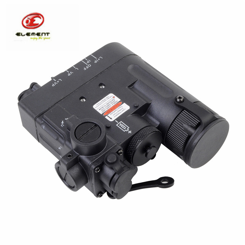 Element Tactical DBAL-D2 Airsoft Military Battery Case Red Dot Laser with LED Flashlight and IR illuminator hot sale and new arrival tactical dbal pl led ir red laser for hunting bwl 012