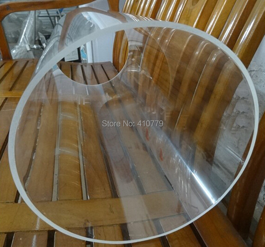 2 шт. OD120x5x1000MM акриловые трубы высокой четкости домашний сад Декор строительный материал улучшение полотенцесушитель занавеска трубы