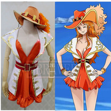 One Piece 15th Anniversary Nami Cosplay