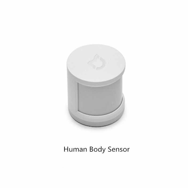Kit de hogar inteligente Xiaomi Mijia puerta de entrada ventana Sensor de temperatura del cuerpo humano Sensor de humedad interruptor inalámbrico Zigbee zócalo cubo