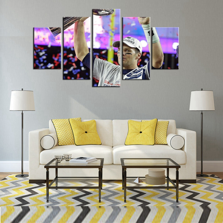 Painting Canvas For Living Room Popular Dallas Cowboys Painting Buy Cheap Dallas Cowboys Painting
