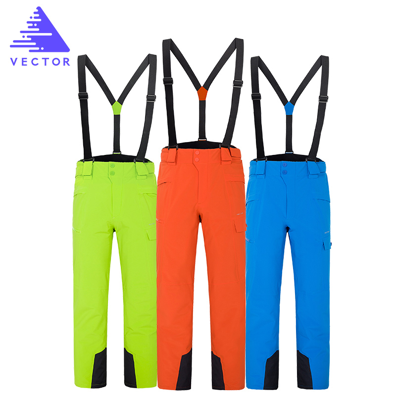 VECTOR Waterproof Warm Ski Pant Winter Outdoor Sports Pants High Quality Snow Skiing Snowboard Pants Outdoor Trousers Plus Size