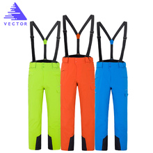 Trousers Snowboard-Pants Skiing Warm Outdoor Waterproof Winter VECTOR Plus-Size High-Quality
