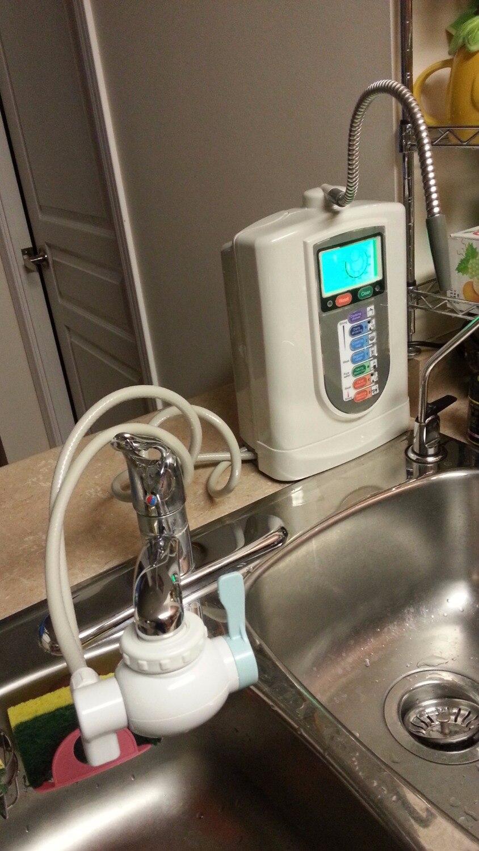 Livraison Gratuite Kangen Ioniseur/eau Alcaline/d'eau réduite/hydrogenwater (JapanTechTaiwan factry) avec intégré NSF filtre + pH bande
