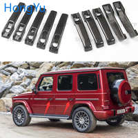 100% real carbon fiber Auto outer door handle cover for Mercedes Benz G Class W463 W464 G65 G55 G63 G500 G550 G350 2009 2019