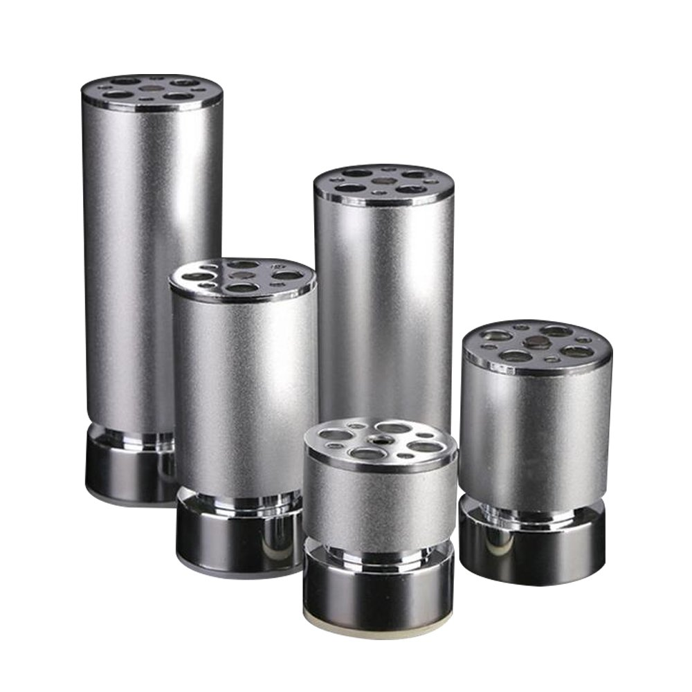 4pcs Furniture Feet Aluminum Alloy Adjustable Table Sofa Cabinet Legs Cupboard Chairs Feet With Mounting Screws Furniture Legs