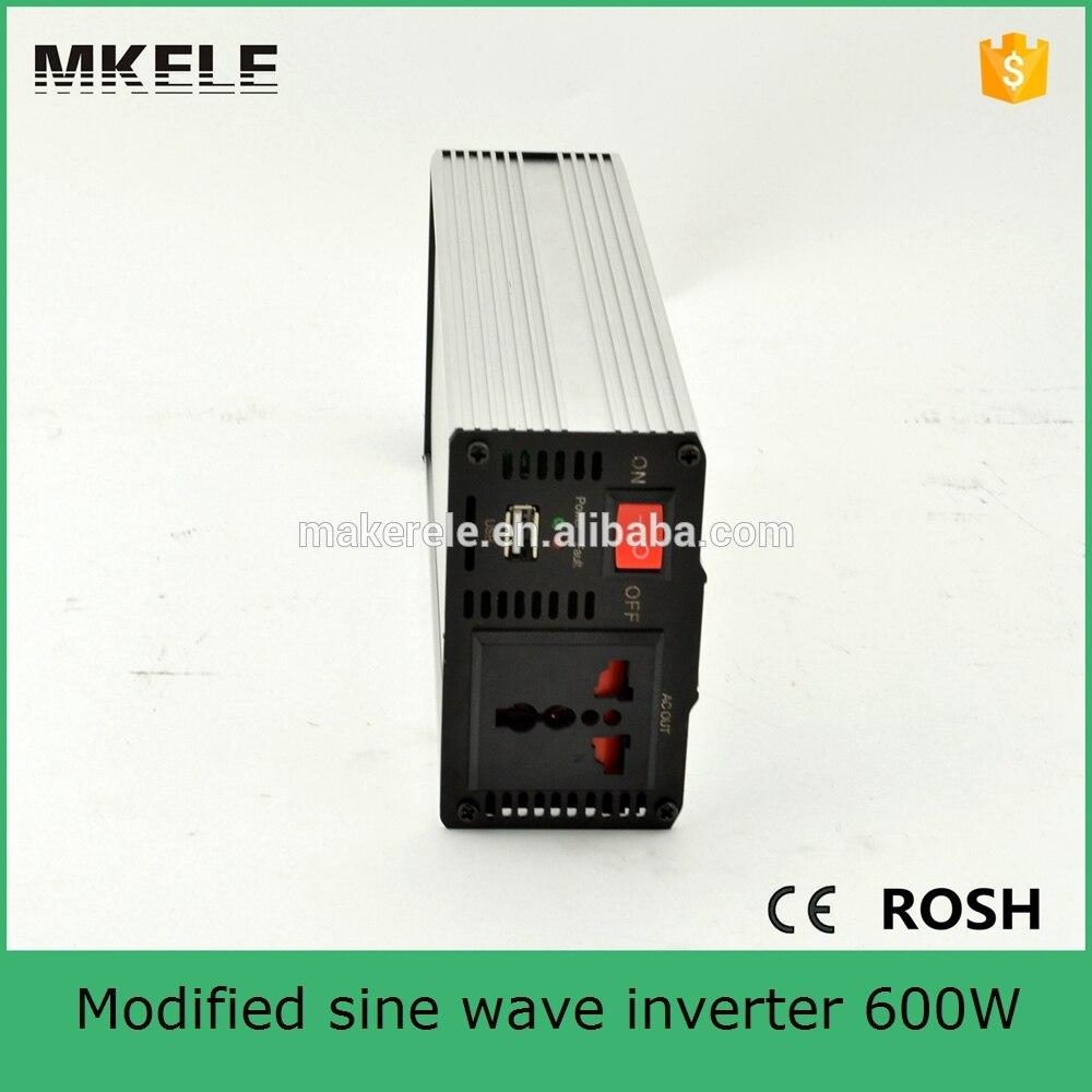 ФОТО MKM600 242G micro power inverter 600w 220 230vac modified sine wave 24vdc 600 watt portable