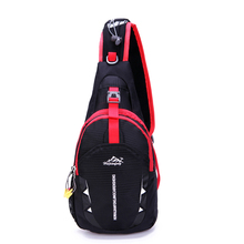 Canvas Chest Bags Crossbody Shoulder Waterproof Sports Running Excersing Backpack Outdoor Bag Diagonal Rucksack Big