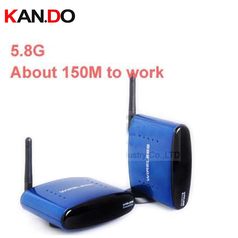 150M To Work,Reverse Remote Control 5.8G STB Wireless Sharing Device,5.8G Transcevier,5.8G Video Audio Transmitter Adapter