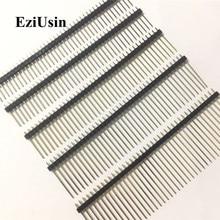 2.54mm Single Row Male Connector PCB Board Pin Header Long 8.5/9.5/13/14/15/17/19/21/25mm 3p 4p 5p 6p 8p 10p 15p Strip Pinheader цены