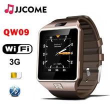 цена на Original 3G WIFI QW09 Bluetooth Smart Watch Men SIM Card 4GB/512MB Real Pedometer Phone Watch Watches PK Q18 A1 DZ09 SmartWatch