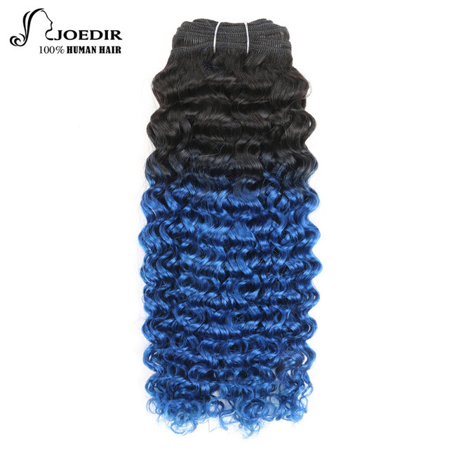 Joedir Rambut Digunakan Berwarna Brasil Remy Rambut Manusia Menenun Alam  Mimpi Curl   P1B 30 Warna ba7bff6090