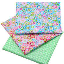 hot deal buy 2015 high quality pink floral style patchwork cotton fabric sewing patchwork textile fabric for dog cloth bags 40x50cm  b2-3-6