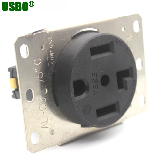 American 4 Pole 250v 30a Nema L14 30r Us Generator Outlet Anti Off