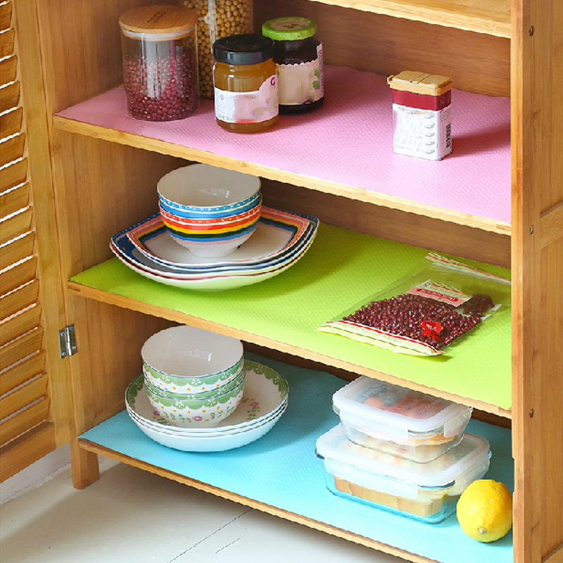 Waterproof Kitchen Table Mat Storage Drawers Cabinet Shelf Liners Pad Cupboard Placemat Decoration Home Organization Accessories