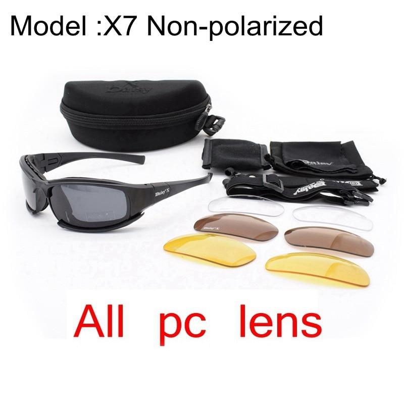 X7 non polarized