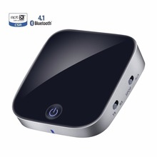 Bluetooth Transmisor Receptor CSR4.1 aptx Wireless Stereo Audio Adapter con TOSLINK/SPDIF AUX de 3.5mm