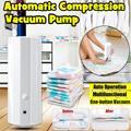 Портативный бытовой автоматический вакуумный уплотнитель насоса Электрический воздушный вакуумный насос для одежды одеяло еда 220 В