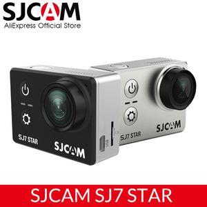 "Image 1 - 원래 sj7 스타 4 k 30fps 울트라 hd sjcam 액션 카메라 ambarella a12s75 2.0 ""터치 스크린 30 m 방수 원격 스포츠 dv"