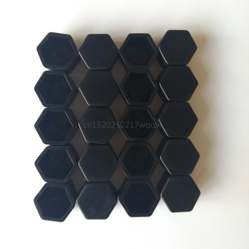 19mm 20pcs <font><b>Car</b></font> <font><b>Wheels</b></font> screw <font><b>cover</b></font> <font><b>silicone</b></font> material Exterior products For Land Rover LR4 LR2 Range Rover Evoque image