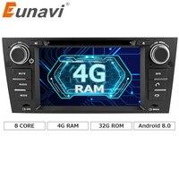 Eunavi Octa 8 Core CPU Android 8.0 Auto DVD Für 3 Serie BMW E90 E91 E92 E93 318 320 325 Für Manuelle Klimaanlage gps Navi