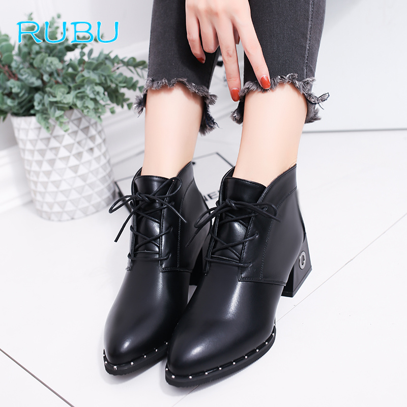 Patent Leather Boots Women School Style Lace Up Shoes Fashion Casual Shoes Breathable Comfortable Lady Walking Shoes beffery 2018 british style patent leather flat shoes fashion thick bottom platform shoes for women lace up casual shoes a18a309