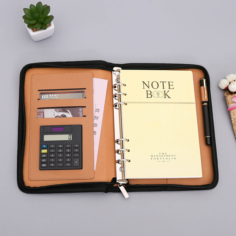 A5 B5 Faux Leather Notebook Spiral Personal Dairy Planner Organizer Notepad Travel Agenda Manager Padfolio Folder CalculatorA5 B5 Faux Leather Notebook Spiral Personal Dairy Planner Organizer Notepad Travel Agenda Manager Padfolio Folder Calculator