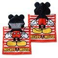 Mickey mouse traje de la albornoz de toalla de algodón de dibujos animados Bebé toalla Con Capucha toalla de Baño Manto toalla lindo mickey mouse winnie oso