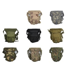 ФОТО tactical military drop leg bag utility pouch bag cross over pistol bullet holster leg rig camouflage versipack thigh pack sports