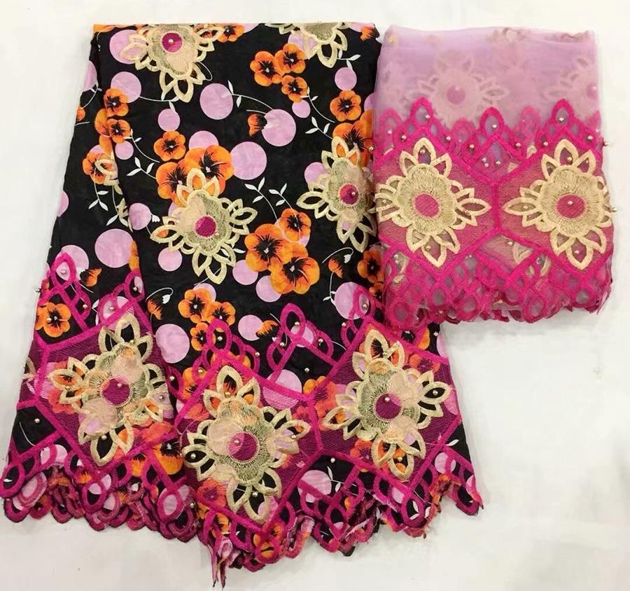 BEAUTIFICAL Bazin riche getzner tissu Noir avec fleur haute qualité perlée Africain tissus de dentelle pour robe de mariée en gros dans Dentelle de Maison & Jardin