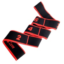 Professionele Gymnastiek Volwassen Latin Trainingsriemen Pilates Yoga Stretch Weerstand Bands Fitness Elastische Band