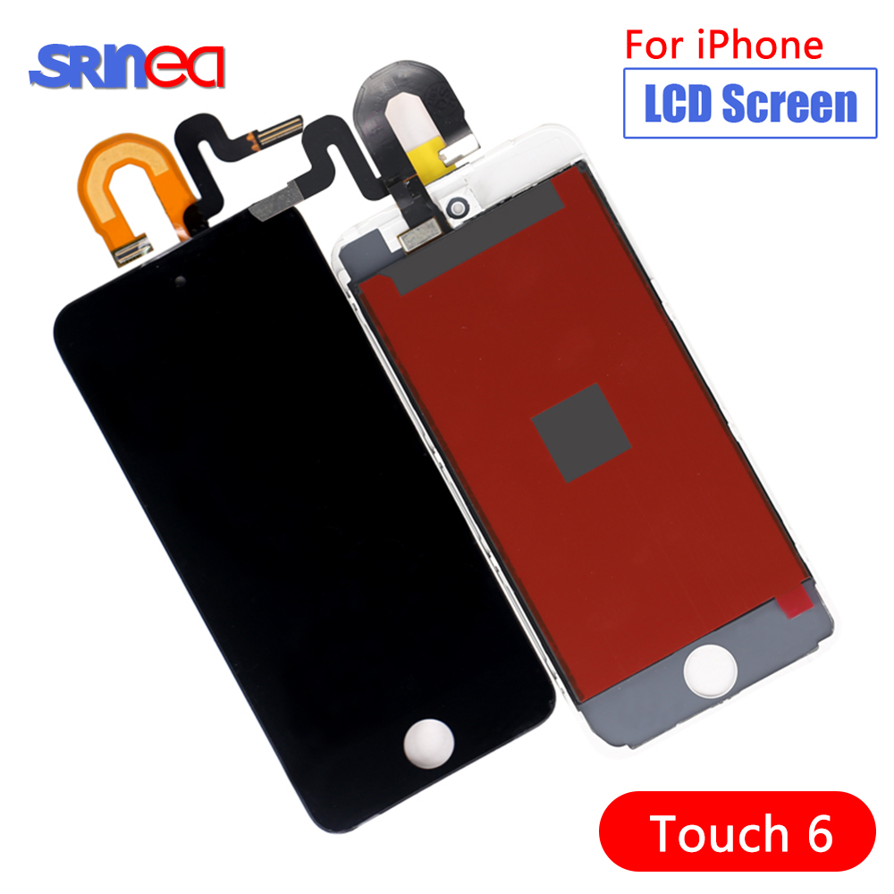 AAAA LCD For Ipod Touch 6 6th LCD Display Touch Screen Digitizer Full Assembly For Ipod Touch 6 Th LCD Display Screen Touch6
