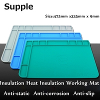 Supple Insulation Heat Insulation Working Mat High Temperature Resistance Magnetic Pad Motherboard Maintenance Pad