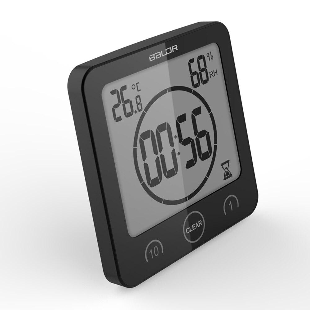 Heatinghereahk Kopen Goedkoop Lcd Digitale Timer Klok Alarm Badkamer Thermometer Hygrometer Wandklok 1 10 Mins Countdown Koken Met Zuignap Prijs