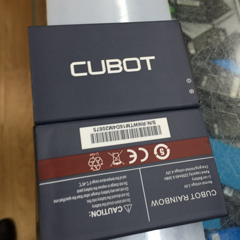 Cubot Rainbow Battery 2200mAh Replacement For Cubot Rainbow Smart Phone+In Stock +track code