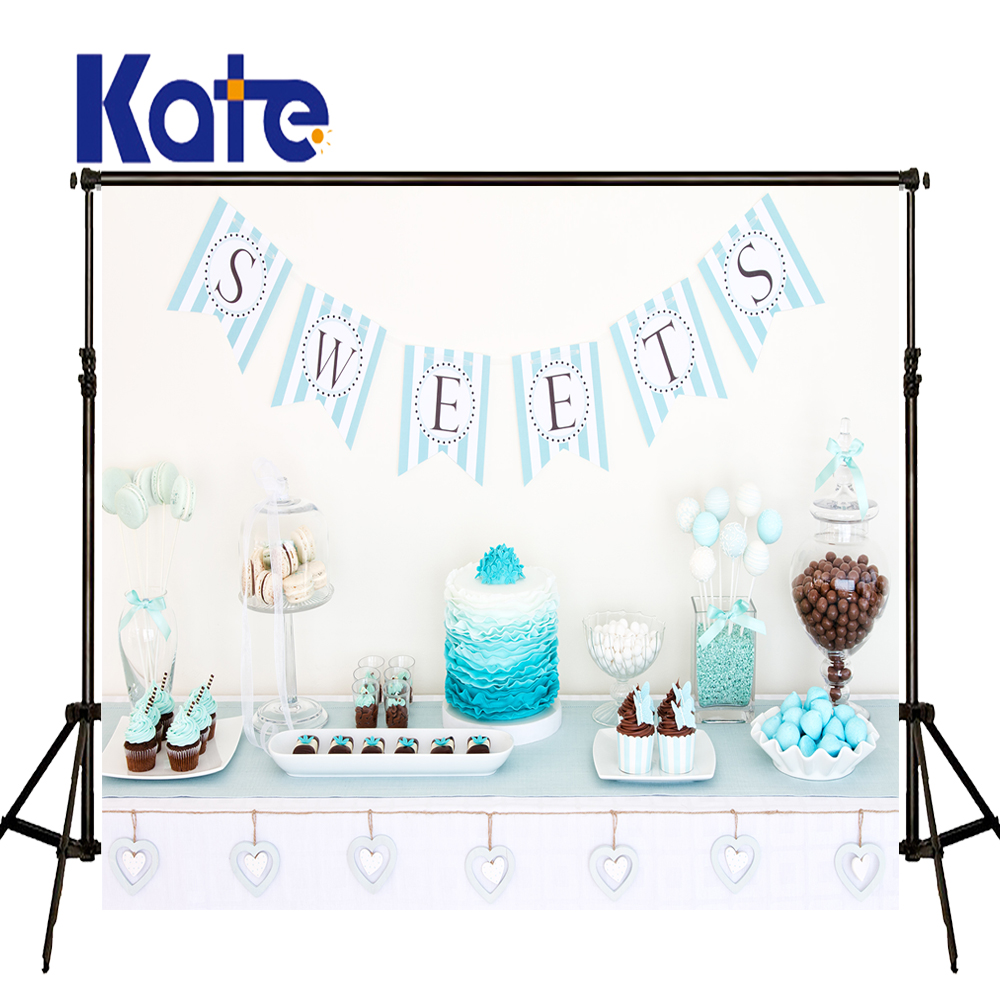 Kate Photo Background Blue Photography Backdrops Newborn Photography Background Birhtday Cake Backdrop for Children Shoot kate dry land photography backdrops land photography background retro children custom backdrop props for newborn photo shoot