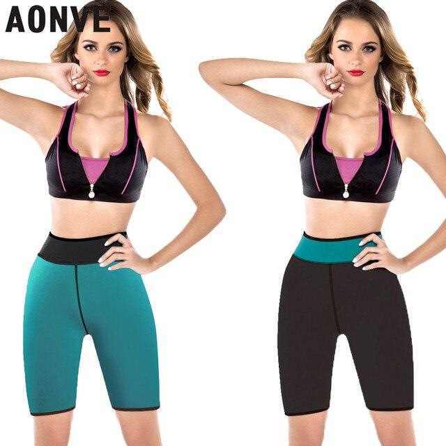 3f1a9ede8772f AONVE Slimming Underwear Sweat Women Modeling Strap Body Neoprene Hot  Shaper Control Panties Sweat Slim Bottoms For Women Girl