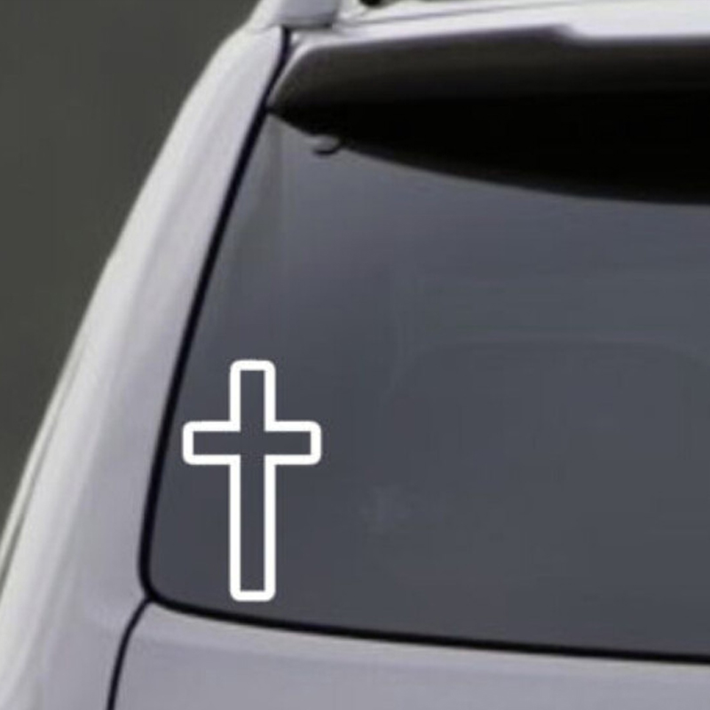 Compare Prices On Cross Bumper Sticker Online ShoppingBuy Low - Cool car decals designcompare prices on cool car decals online shoppingbuy low price