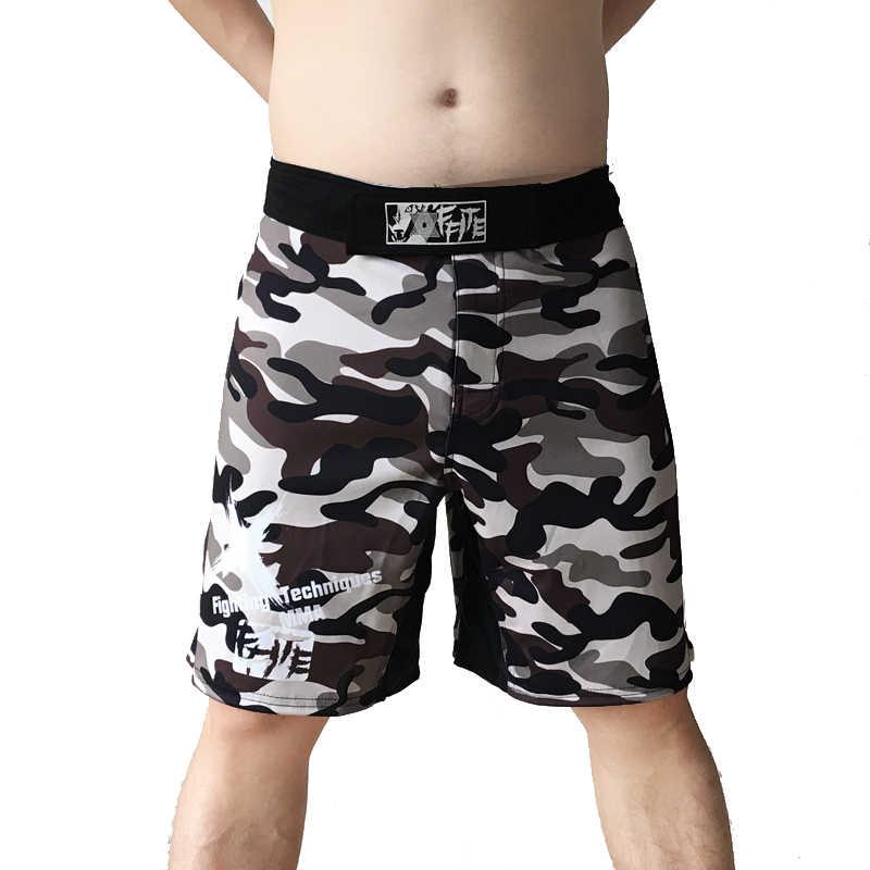 Bermudas MMA kick boxing muay thai shorts mma troncos homens baratos calções de fitness calças desgaste luta grappling mma sanda