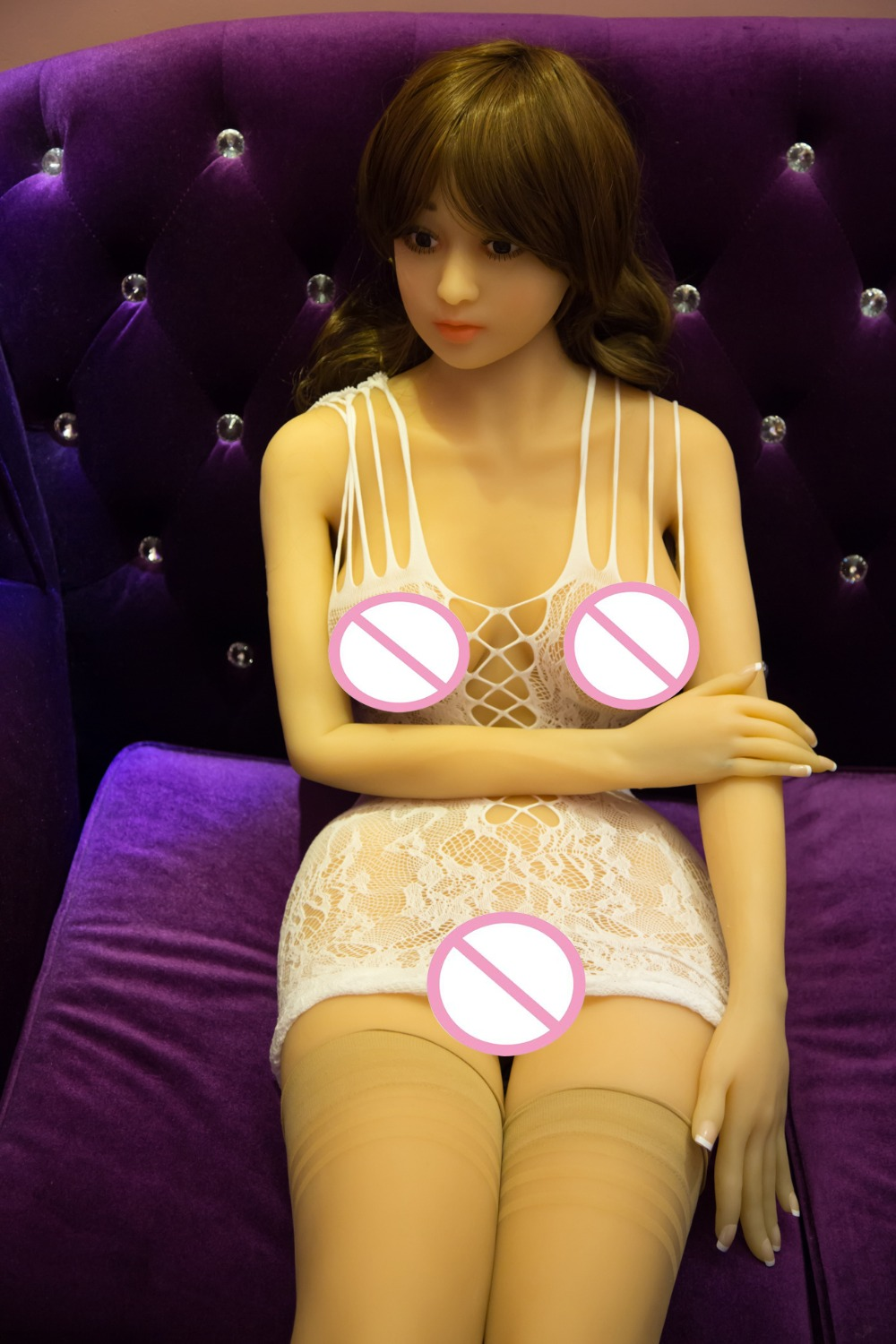 Japanese anime girl hot boobs and pussy