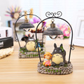 Home Furnishing decoration Hayao Miyazaki elves Nightlight with iron Totoro money reading lamp to send to friends