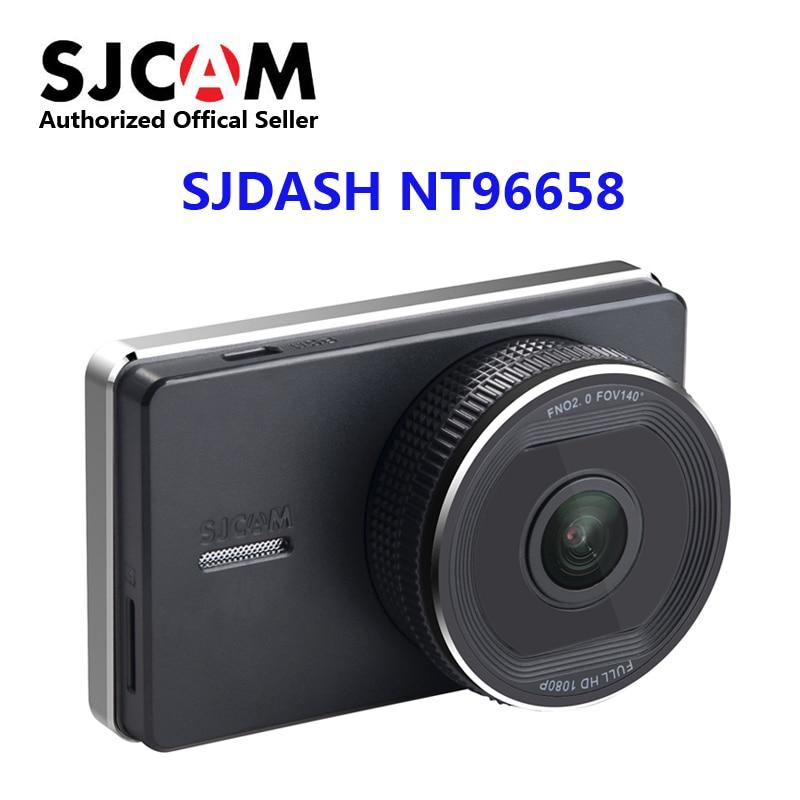 New SJCAM SJDASH Novatek NT96658 Smart Car DVR Dashboard 140 Degree 1080P 30fps 3.0 inch Widescreen Dash Camera Wifi Dashcam