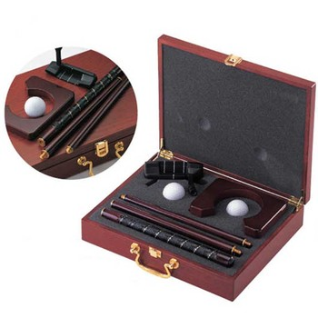 Hot Sale Exquisite Practical Rosewood Golf Putter Cup Ball Set Gift Box for Golfer Beginner Golf Training Aids Accessories