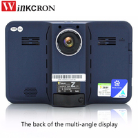 Best 7 Inch Car GPS DVR Camcorder Radar Detector Car Truck Vehicle Android WiFi AVIN Rear