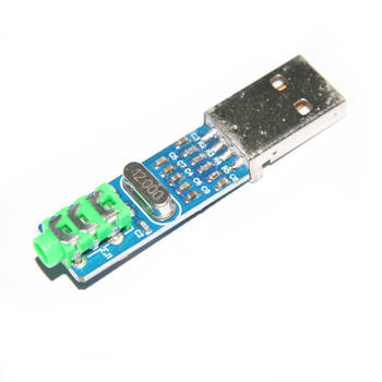 5V Mini PCM2704 USB DAC HIFI USB Sound Card USB Power DAC Decoder Board Module Raspberry Pi 16 Bits Звуковая карта