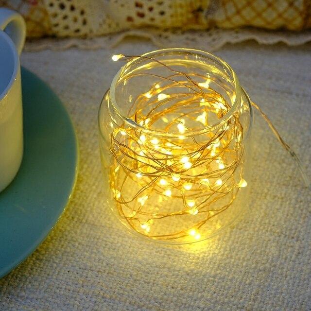 LED Lichterketten, Kupfer Lichterketten In Flaschen, 100% Neu! Für Schlafzimmer  Dekoration,
